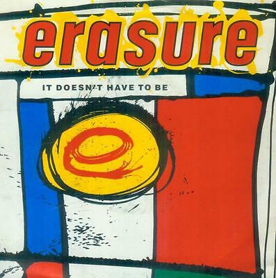 "7"" Erasure/It Doesn´t Have To Be (D)"