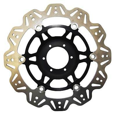 EBC Front Black Vee Rotor Brake Disc For Triumph 2002 Sprint RS (955)