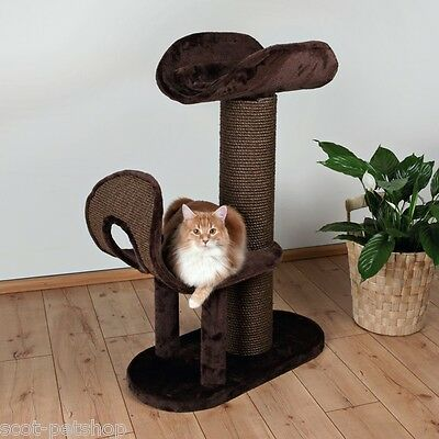 Ramirez Luxury Wide Posted Cat Scratching Post Cat Tree 93 cm • EUR 136,10