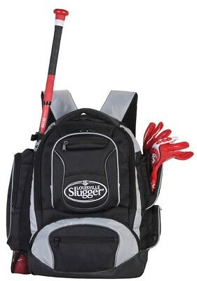 Louisville Slugger EBCCBP5 Black Clubhouse Collection Baseball Softball Backpack