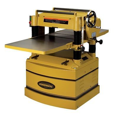 "Powermatic Woodworking Planer–1791296 20"", 5HP, 230V, Single Phase-Free Shipping"