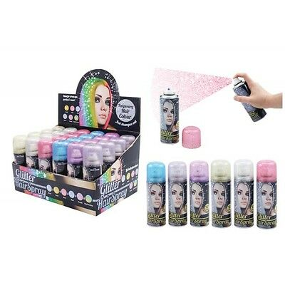 1pce Glitter Hair Spray 85g Great for Parties, Dance Groups and Events