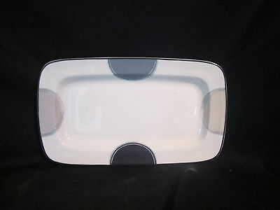 Noritake JAVA GRAPHITE - Butter or Relish Tray - BRAND NEW