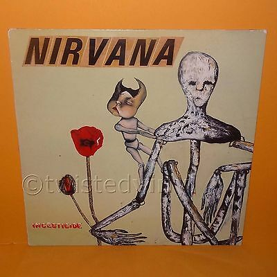 "1992 Geffen Sub Pop Records Nirvana - Incesticide 12"" Lp Album Vinyl Record Rare"