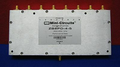 MINI-CIRCUITS POWER SPLITTER ZB8PD-4-S 2000-4200 MHz