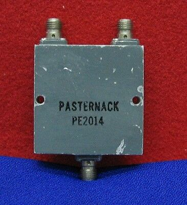 PASTERNACK PE2014 50 Ohm 2 WAY SMA POWER DIVIDER FROM 2 GHz TO 4GHz
