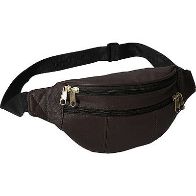 AmeriLeather Leather Fanny Pack 11 Colors Waist Pack NEW