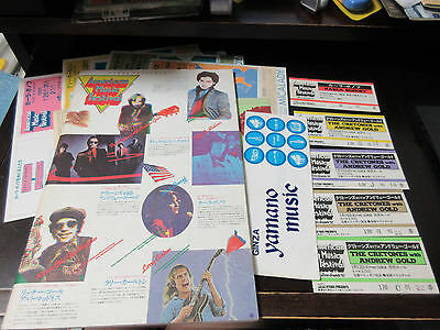 American Music Fes 1981 Japan Tour Book Ticket Cretones Andrew Gold Karla Bonoff