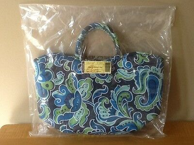 Longaberger Insulated Stay Cool Lunch Bag - Sisters Daydream Fabric