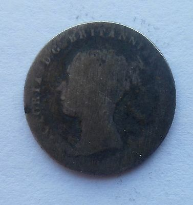 1838 Queen Victoria Fourpence