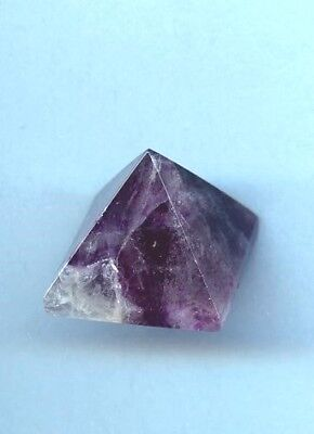 Fluorite Gemstone Pyramid #1