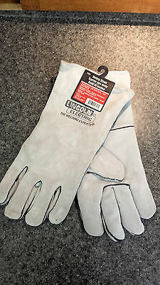 Lincoln Electric Welding Gloves - One Size - KH641 - Gray