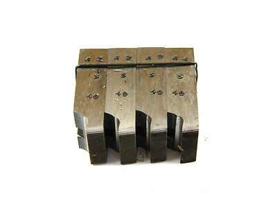 7//8 X 14 NF HSS SET OF 4 THREAD CHASERS A-3-10-4-1
