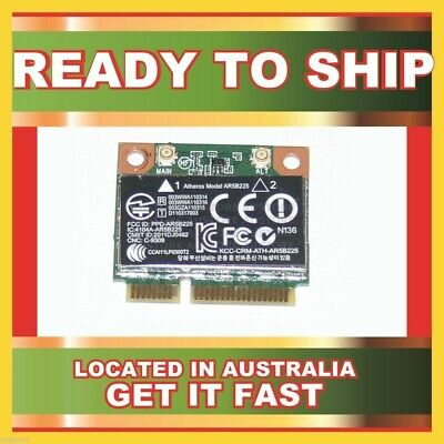 Genuine 655795-001 Hp Wifi N Wlan Wireless Bt Bluetooth 4.0 Half Card