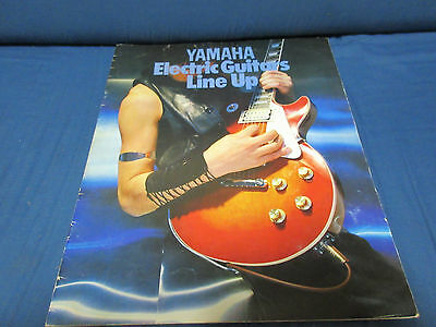 Yamaha Guitar Japan Catalog 1979 SF SG SL SJ SC SR AE SA BB SB PB Models