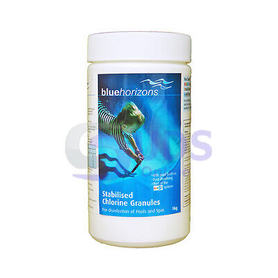 Spa Swimming Pool Chlorine Granules Disinfectant - 1kg