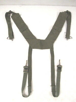 Vietnam USMC US Army M1956 H-Pattern Pack Suspenders Size X LONG Rigger Modified