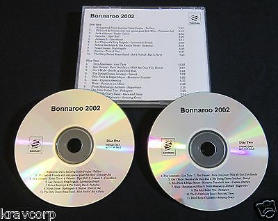 Jack Johnson/norah Jones/phil Lesh 'Bonnaroo 2002' Promo 2-Cd Set