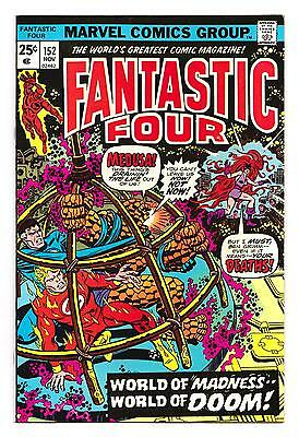 FANTASTIC FOUR 152 (VF+) MAHKIZMO (FREE SHIPPING with BIN)*