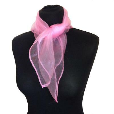 Fancy Dress 20s 30s 40s 50s Pink Scarf Lady Grease Neck Tie