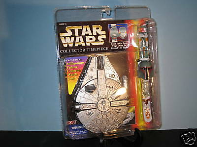 Star Wars Collector Watch with  Case Mint in Original Packaging