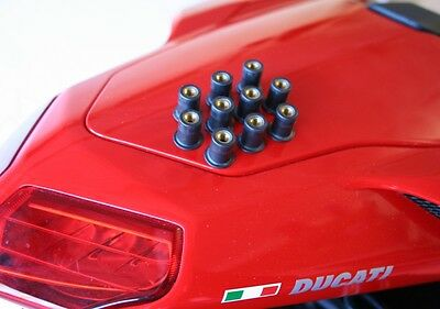 Ducati 848 1098 1198 Rubber Fairing Fasteners - VARIOUS QUANTITY SELECTION HQ