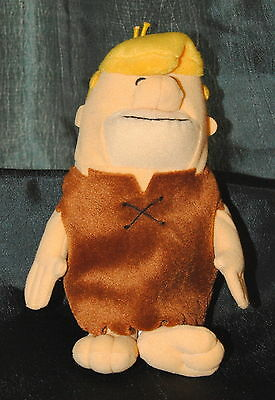 Warner Bros Studio Store 8 inch Flintstones Barney Rubble soft toy