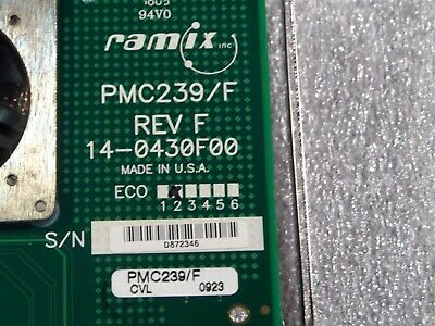 (1x) GE Fanuc Ramix - PMC239/F - PCI to PMC Edge Conn Host Adapter with Fan