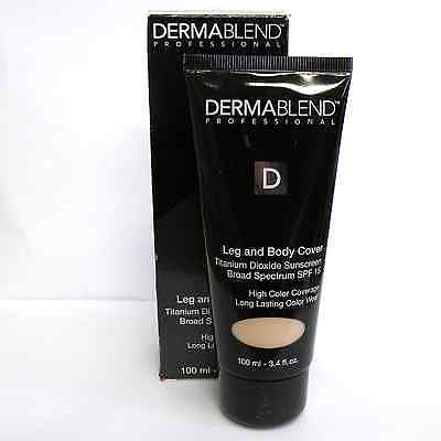 Deramblend Leg and Body Cover High Coverage SPF 15 Beige 3.4 oz
