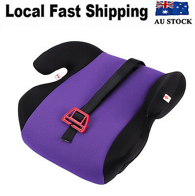 Safe Sturdy Baby Child Car Purple Booster Seat Polystyrene (3-12 years) Boy/Girl