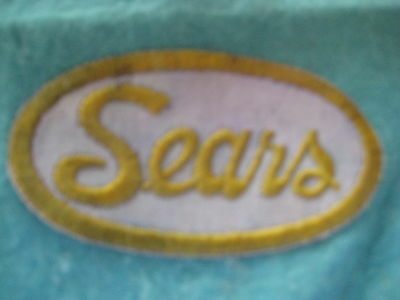 """Vintage Old Sears Store   Patch 3 7/8 X 2 1/8"""""""