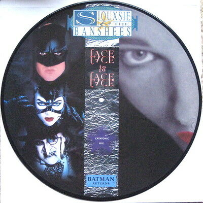 "SIOUXSIE & THE BANSHEES - FACE TO FACE (Catatonic Mix)  12"" VINYL PICTURE DISC"