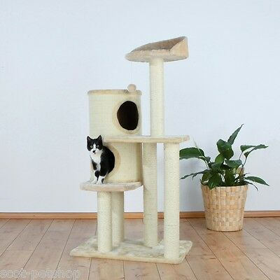 Palencia Cat Activity Centre Cat Tree With Sisal Posts And Cosy Cave Bed 43811