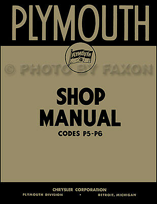 1938 Chrysler Shop Manual 38 Royal and Imperial Repair Base for 1939 Service
