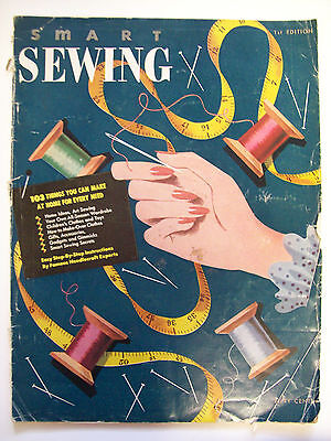 Smart Sewing 1st Ed 1949 103 to make patterns fashion for all toys gifts