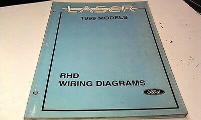 1999 FORD LASER Factory WIRING DIAGRAMS 1999 ford laser factory wiring diagrams manual aud 34 95 1999 ford laser wiring diagram at couponss.co