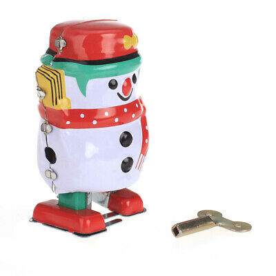 Wind up Clock Working Tin Toy Perfect Collectibles Toy Kids Party Favors Gifts