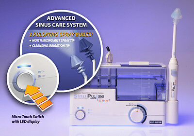Health Solutions SinuPulse Elite Advanced Nasal Sinus Irrigation System