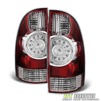 2005-2015 Toyota Tacoma Replacement LED Tail Lights Brake Lamps 05-15 Left+Right