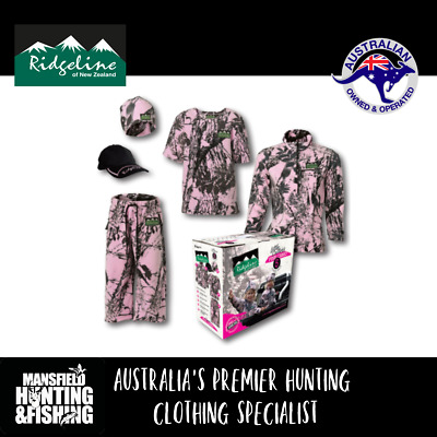Ridgeline Little Critters Pink Camo Clothing Pack - Free Express Post! Kids Camo