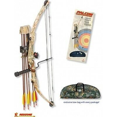 Falcoln Deluxe Compound Bow Package - RH/45lb, Compound Bow, Archery Bow,