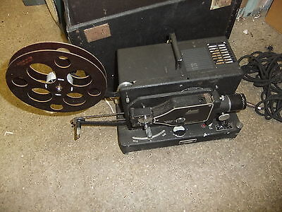 Cine film projector BAUER PANTALUX 16MM - UNTESTED
