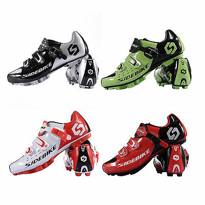 Sidebike New Mens Women Cycling Shoes Breathable Cycle Road Bike Sport Shoes