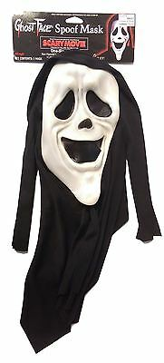 Smiley Scream Scary Spoof Movie Licenced Halloween Fancy Dress Mask