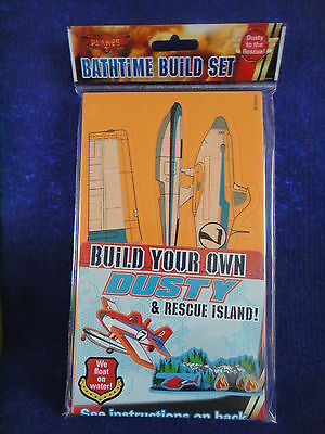 Disney Planes 2 Bathtime Set Build Your Own Dusty&Rescue Island All In £1.75