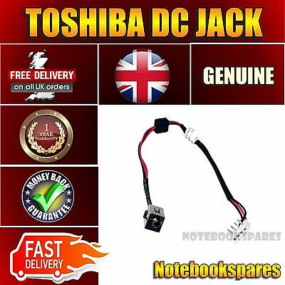 TOSHIBA SATELLITE A660-186 A660-18G Notebook Power DC Jack with Cable 2.5mm pin