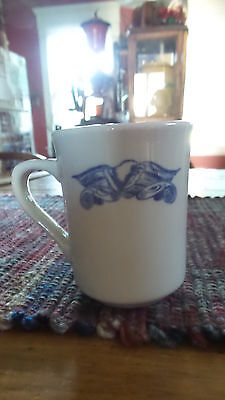 Vintage Syracuse China Restaurant Ware MUG, LIBERTY Blue,Eagle,Patriotic 3 7/8""