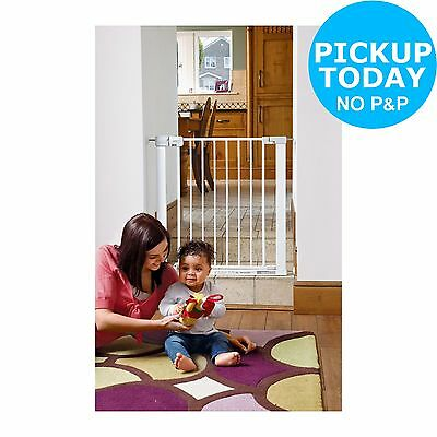 Safety 1st Pressure Fit Metal Safety Gate. From the Official Argos Shop on ebay