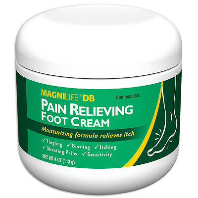 NEW MagniLife Pain Relieving Foot Cream - Calms Damaged Nerves In Feet And Toes
