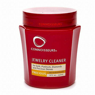 Connoisseurs Jewelry Cleaner Precious Gold Platinum Diamonds Stones Rings Ruby